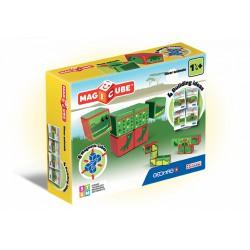 Geomag Magicube vízi állatok 6 darabos mágneses kockaépítő szett - Geomag építőjátékok - Építőjátékok Geomag Magicube
