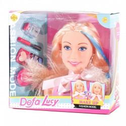 Defa Lucy sminkelhető babafej - Defa Lucy babák és kiegészítők - Defa Lucy babák és kiegészítők Defa Lucy