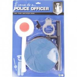 Rendőr kiegészítő jelmez készlet - univerzális méret - Jelmezek - Jelmezek