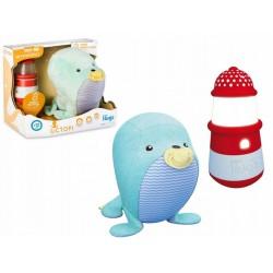 Octopi interaktív fóka bébijáték - Plüss és állat,-mesefigurák - Plüss és állat,-mesefigurák Ocean Hugz