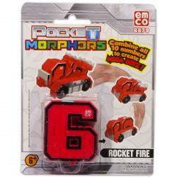 Pocket Morphers 6. Rocket Fire - Rakétavető figura - Transformer/átalakuló robot játékok - Transformer/átalakuló robot játékok Pocket Morphers