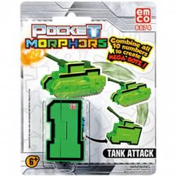 Pocket Morphers 1. Tank Attack - Tank figura - Transformer/átalakuló robot játékok - Transformer/átalakuló robot játékok Pocket Morphers