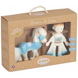 Papo Baby Leo és Bisou figura készlet - PAPO figurák - Bébijátékok Papo
