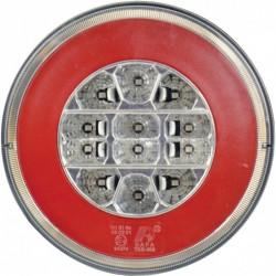 Carpoint Hátsó Kerek LED lámpa - 3 funkciós - 140mm - KÜLSŐ - FELSZERELÉS