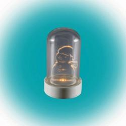Somogyi CDM 9S - Asztali LED Hóember - 9cm - Meleg Fehér