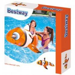 Bestway Felfújható bohóchal lovagló - 157x94 cm - BESTWAY strandcikkek - BESTWAY strandcikkek Bestway