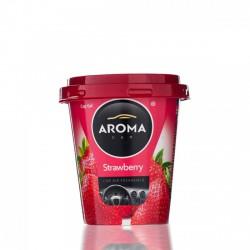 Aroma Car Cup Gel - Poharas Zselés illatosító - 130g - Strawberry / Eper - ILLATOSÍTÓK - ÁPOLÁS