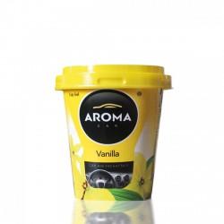 Aroma Car Cup Gel - Poharas Zselés illatosító - 130g - Vanília - ILLATOSÍTÓK - ÁPOLÁS
