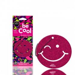 Aroma Car Be Cool lapillatosító smiley - Bubble Gum / Rágógumi - ILLATOSÍTÓK - ÁPOLÁS