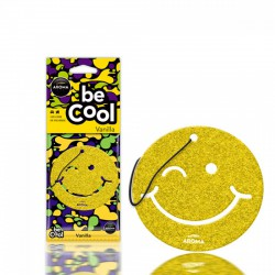 Aroma Car Be Cool lapillatosító smiley - Vanília - ILLATOSÍTÓK - ÁPOLÁS