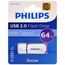 Philips Snow USB2.0 Pendrive - 64GB Otthon Otthon