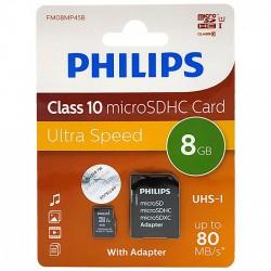 Philips microSDXC memóriakártya - Class 10 - 8GB Otthon Otthon