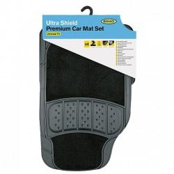 Ring Ultra Shield 5000 - PVC + Textil Autószőnyeg Szett - Fekete - SZŐNYEG ÉS CSOMAGTÉRTÁLCA - FELSZERELÉS
