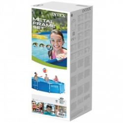 INTEX Csővázas medence szűrővel - 305x76 cm - BESTWAY strandcikkek - BESTWAY strandcikkek Intex