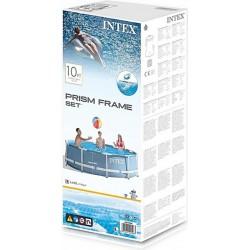 INTEX Csővázas medence szűrővel - 457x122 cm - BESTWAY strandcikkek - BESTWAY strandcikkek Intex