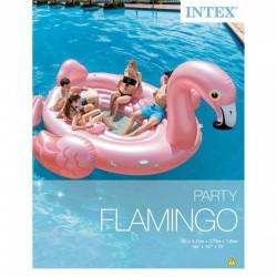 INTEX Flamingó party sziget - 422x373x185 cm - BESTWAY strandcikkek - BESTWAY strandcikkek Intex
