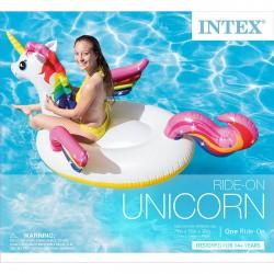 INTEX Unikornis lovagló - 201x140x97 cm - BESTWAY strandcikkek - BESTWAY strandcikkek Intex