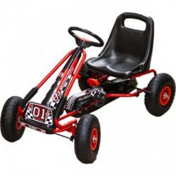 Gokart max. 30 kg piros színben - Járművek - Járművek