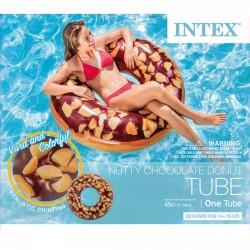 INTEX Mogyorós csokis fánk úszógumi - 114 cm - BESTWAY strandcikkek - BESTWAY strandcikkek Intex