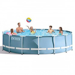 INTEX Csővázas medence szűrővel - 457x84 cm - BESTWAY strandcikkek - BESTWAY strandcikkek Intex