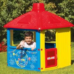 Dolu CITY HOUSE játszóház 132x104x104 - Kerti és vízes játékok - Kerti és vízes játékok Dolu