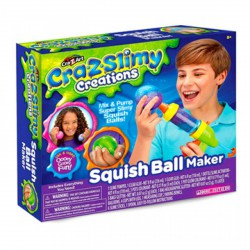 Cra-Z-Art Slimy Nyomilabda készítő szett - Cra-Z-Knitz kreatív játékok - Cra-Z-Knitz kreatív játékok Cra-Z-Art