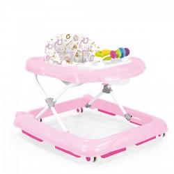 DOLU Bébikomp, járássegítő - rózsaszín, 68x61x46 cm - Bébijátékok - Bébijátékok Dolu