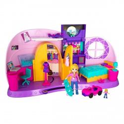 Polly Pocket átváltozó szoba játékszett - Polly Pocket babák - Lányos játékok Polly Pocket