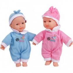 Beszélő játékbaba - 25 cm, többféle színben - Lányos játékok - Lányos játékok