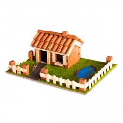 Brick Trick Vidéki ház kreatív építőjáték - Építőjátékok - Építőjátékok Brick Trick