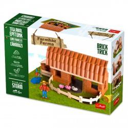 Brick Trick Farmház kreatív építőjáték - Építőjátékok - Építőjátékok Brick Trick