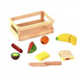 Fa élelmiszer vágható készlet - Fajátékok - Fajátékok