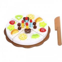 Fa szülinapi torta vágható készlet - Fajátékok - Fajátékok