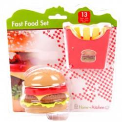 Hamburger menü játékkészlet - Konyhák - Konyhák