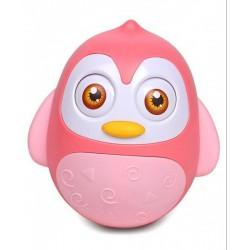 Pingvin keljfeljancsi - rózsaszín - Bébijátékok - Bébijátékok