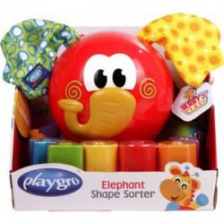 Elefántos formaválogató bébijáték - Bébijátékok - Bébijátékok PLAYGRO