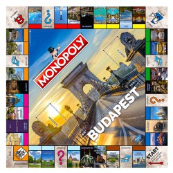 Monopoly Budapest - Top Látnivalók - Társasjátékok - Társasjátékok Monopoly