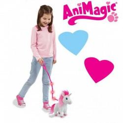 Animagic Destiny sétáló unikornis 25 cm plüssfigura - Animagic játékok