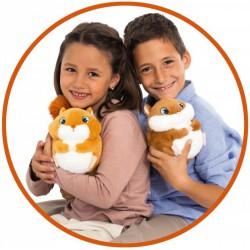 Bam Bam rázkodó, ugráló mókus plüssfigura - Plüss és állat,-mesefigurák