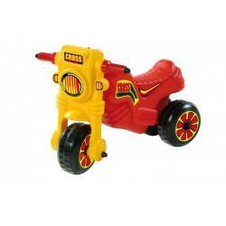 Műanyag Cross kismotor - piros - Kerti és vízes játékok - Járművek