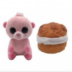 Süti állatkák kifordítható plüssfigura - 10 cm, Pufi Puffancs - Sweet Pups/Süti kutyusok - Plüss és állat,-mesefigurák Süti állatkák plüssök