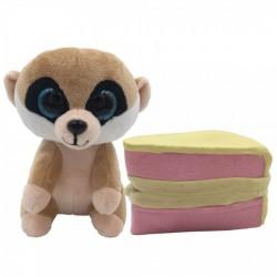 Süti állatkák kifordítható plüssfigura - 10 cm, Cuki Muki - Sweet Pups/Süti kutyusok - Plüss és állat,-mesefigurák Süti állatkák plüssök