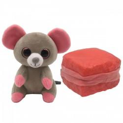 Süti állatkák kifordítható plüssfigura - 10 cm, Minyon Mimi - Sweet Pups/Süti kutyusok - Plüss és állat,-mesefigurák Süti állatkák plüssök