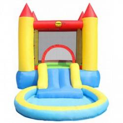 Kastély ugrálóvár medencével - 365x200x190 cm - Kerti és vízes játékok - Kerti és vízes játékok