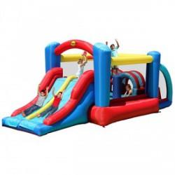 Versenypálya ugrálóvár - 530x250x215cm - Kerti és vízes játékok - Kerti és vízes játékok