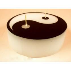 Yin-Yang gyertya 11cm -Gyertyák - Egzotikus ajándékok