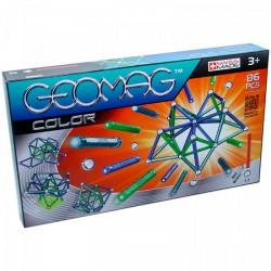 Geomag 86 darabos színes mágneses építőjáték készlet - Geomag építőjátékok - Építőjátékok Geomag