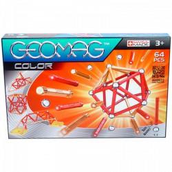 Geomag 64 darabos színes mágneses építőjáték készlet - Geomag építőjátékok - Építőjátékok Geomag