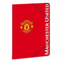 Manchester United gumis dosszié A/5 Táska, sulis felszerelés - Manchester United