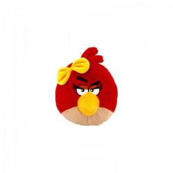 Angry Birds: Piros lány madár 13 cm-es plüssfigura ANGRY BIRDS - Plüss és állat,-mesefigurák